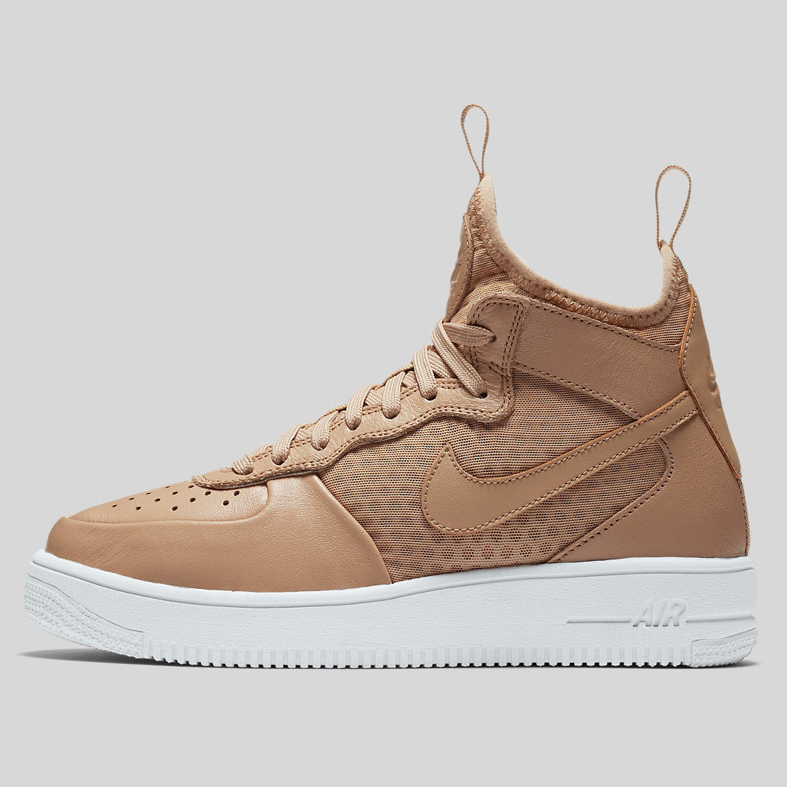 newest collection dfa1a 08afb ... closeout nike wmns air force 1 ultraforce mid vachetta tan white 864025  200 70cbf 1d24f