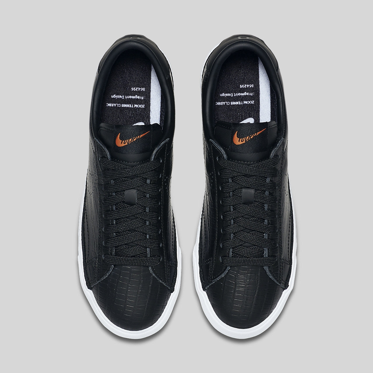 more photos fffe2 86420 Fragment x Nike Wmns Zoom Tennis Classic AC FGMT Black
