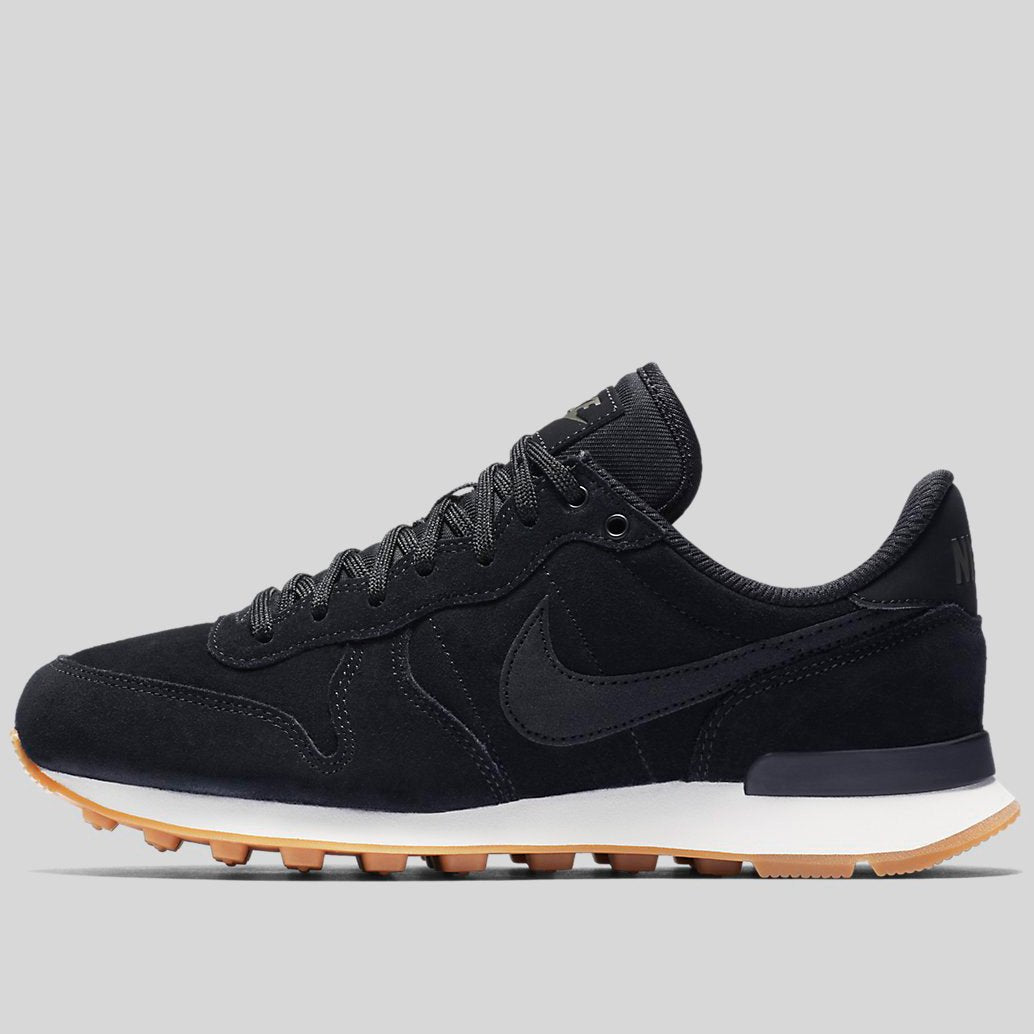 new style b6086 4017e ... coupon code for nike wmns internationalist se black black deep green  gum light brown 872922 ecb3e