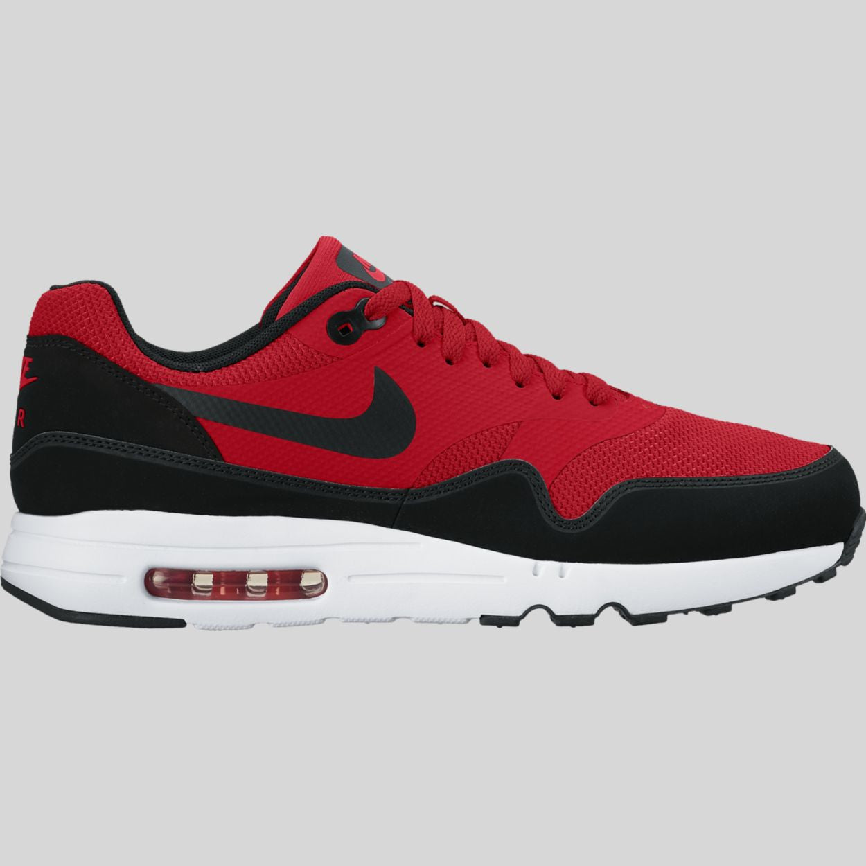 Sala Implacable Karu  Nike Air Max 1 Ultra 2.0 Essential University Red Black White (875679-600)  | KIX-FILES