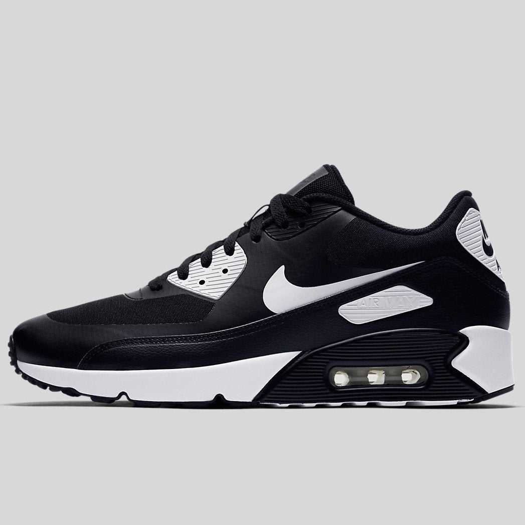 best website ca173 b36ad Nike Air Max 90 Ultra 2.0 Essential Black White-White (875695-008)