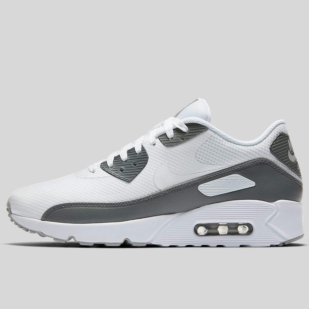 outlet store 2373a db1c0 Nike Air Max 90 Ultra 2.0 Essential White Cool Grey Wolf Grey (875695-102