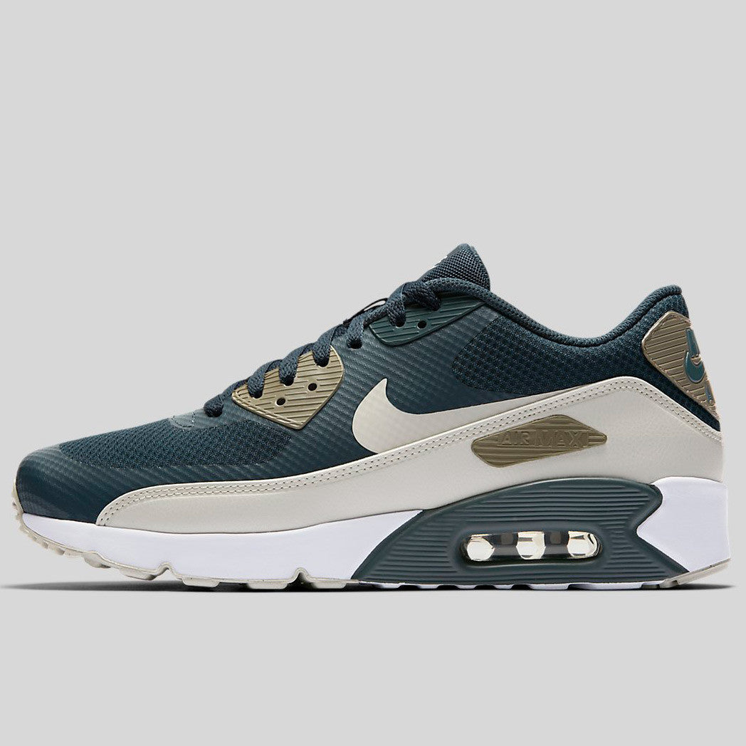 wholesale dealer 924be 0e5ae Nike Air Max 90 Ultra 2.0 Essential Blue Fox Light Bone Dark Mushroom White  (875695