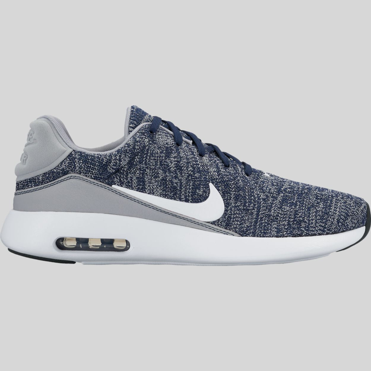 Nike Air Max Modern Flyknit College Navy White Wolf Grey (876066-400 ... 92c4f6234198