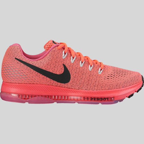 9d3a98474349 Nike Wmns Zoom All Out Low Hot Punch Black White (878671-601)