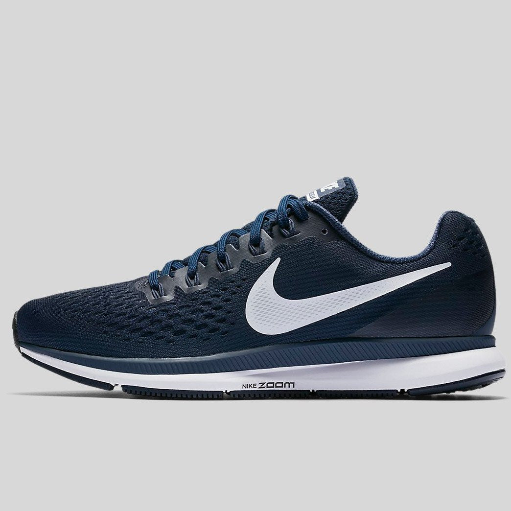 Nike Air Zoom Pegasus 34 Obsidian White Neutral Indigo (880555-401)