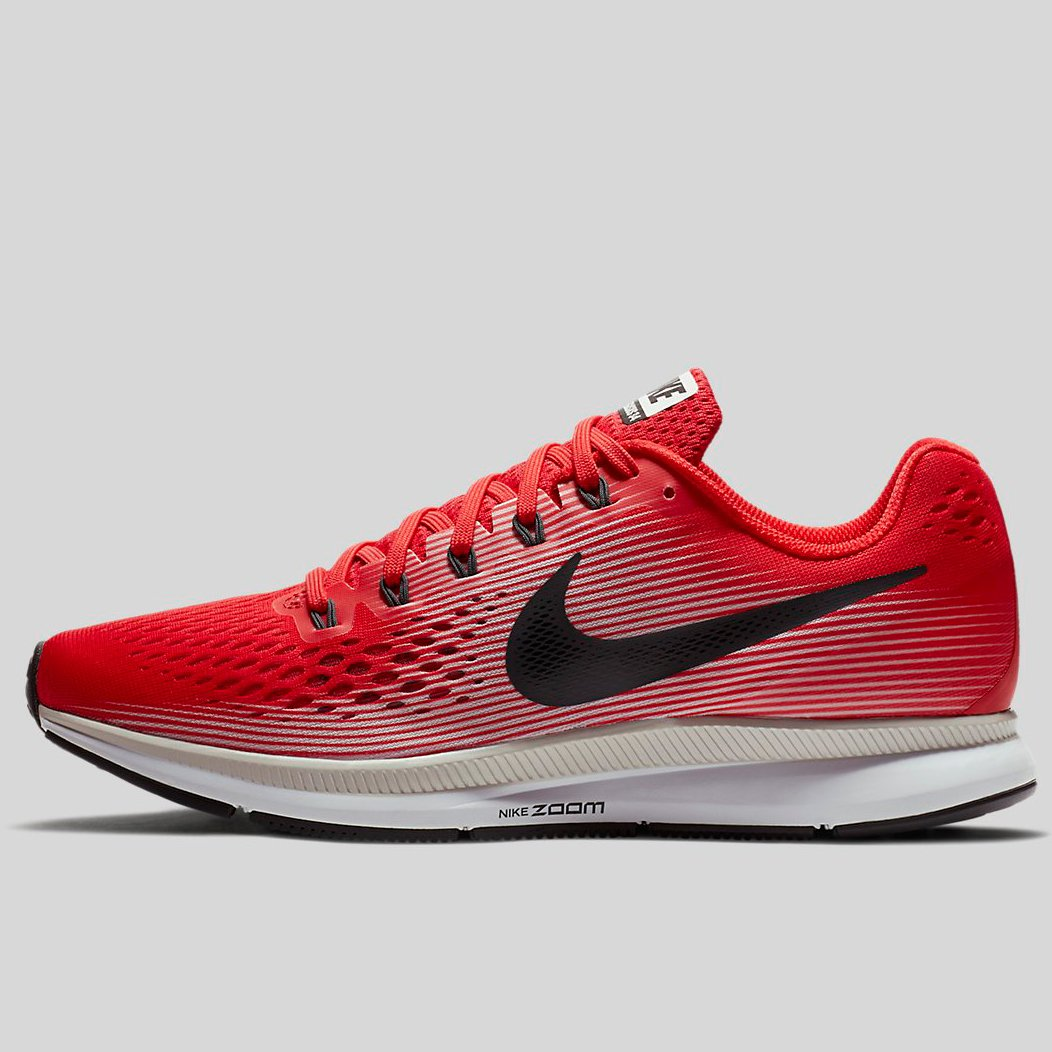 5c6f37f446f5 Nike AIR ZOOM PEGASUS 34 Speed Red Anthracite-Vast Grey-Black (880555-