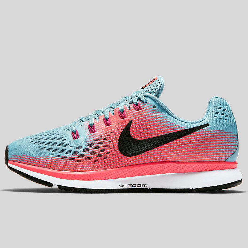 competitive price 38586 96405 Nike Wmns Air Zoom Pegasus 34 Mica Blue White Racer Pink Sport Fuchsia  (880560-