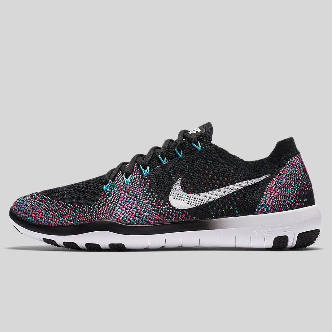 0fe0a6a90a5a Nike Wmns Free Focus Flyknit 2 Black White Racer Pink (880630-002)