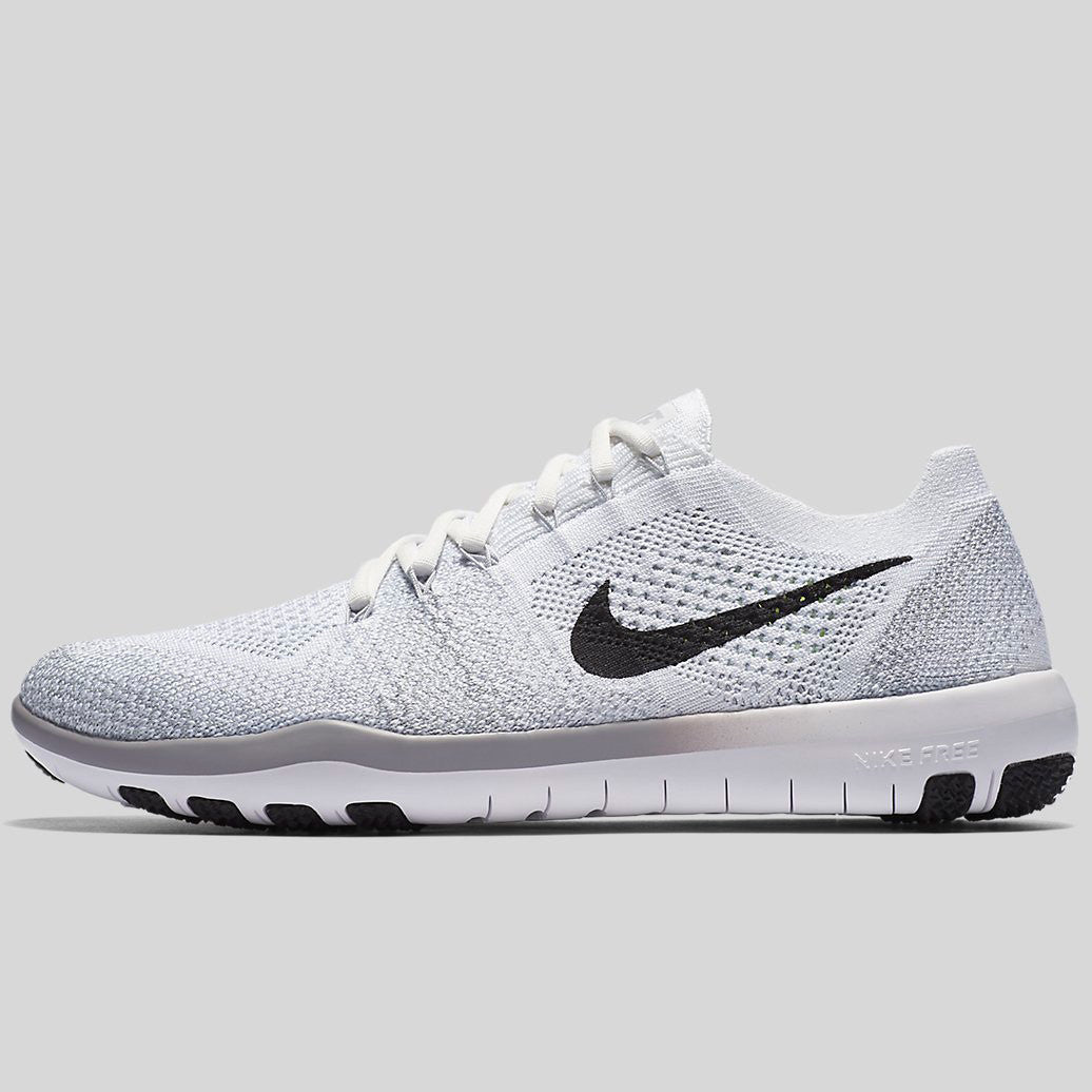 outlet store eb7e0 09df6 Nike Wmns Free Focus Flyknit 2 White Black Wolf Grey