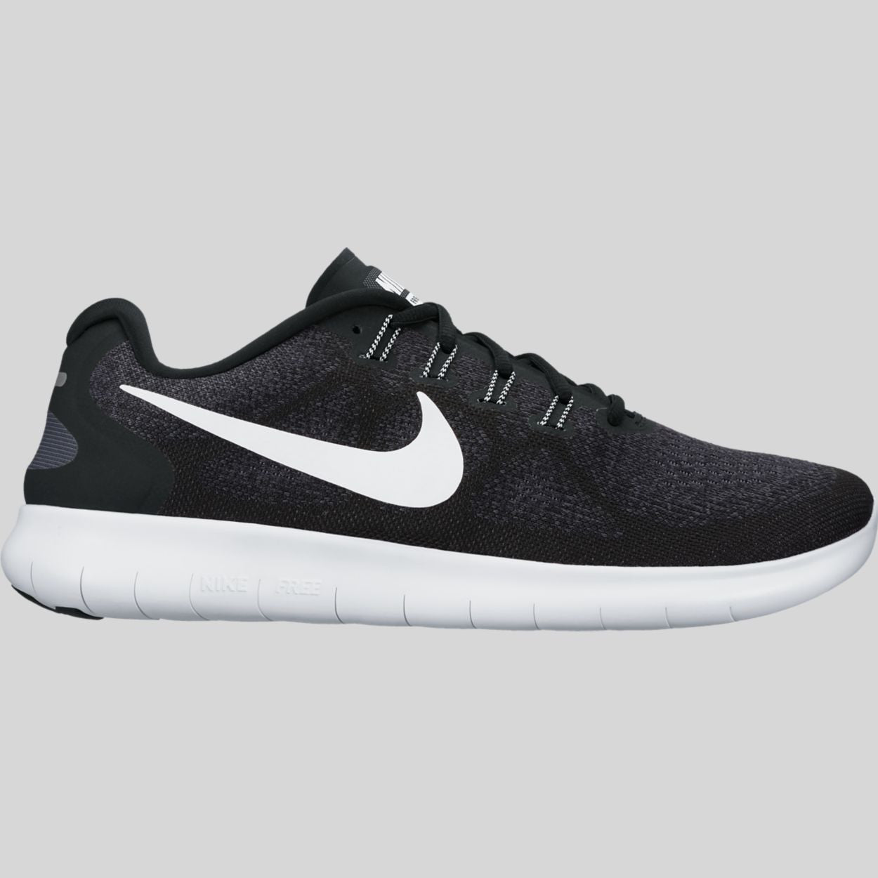 468a4cf89039e Nike Free RN 2017 Black White Dark Grey Anthracite (880839-001)