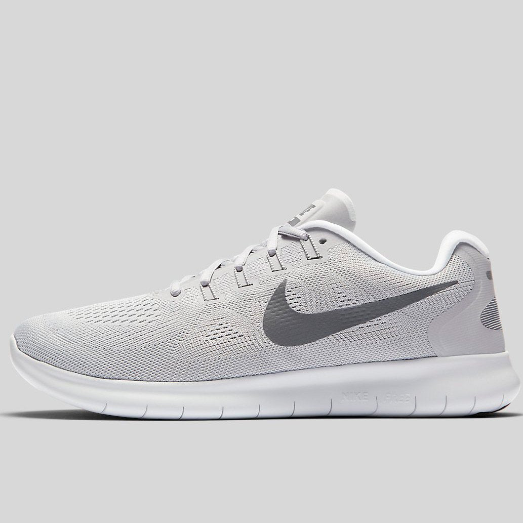 nike free 2017 rn white/pure platinum/cool grey style