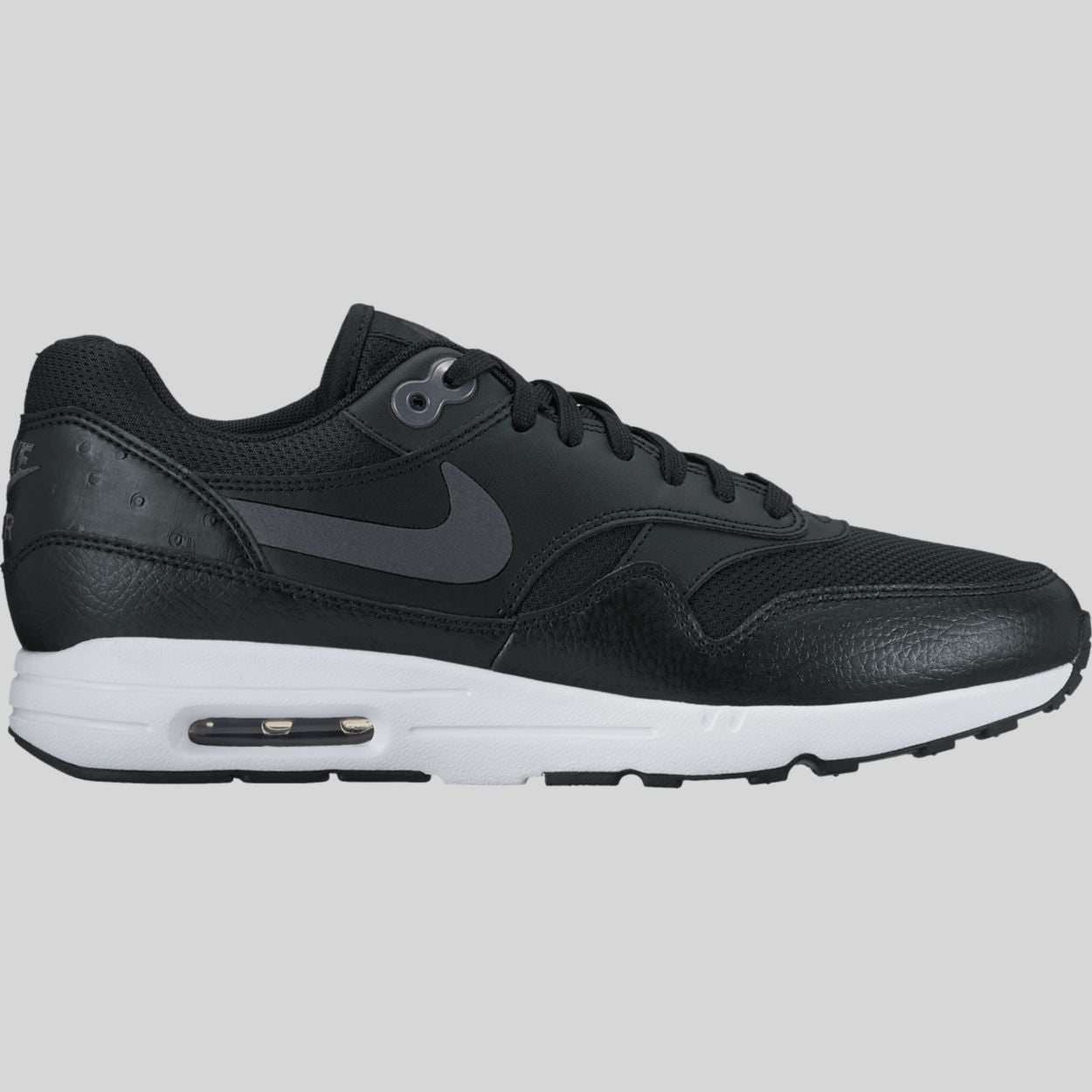 9067032efedb79 Nike Wmns Air Max 1 Ultra 2.0 Black Metallic Hematite White (881104-002)