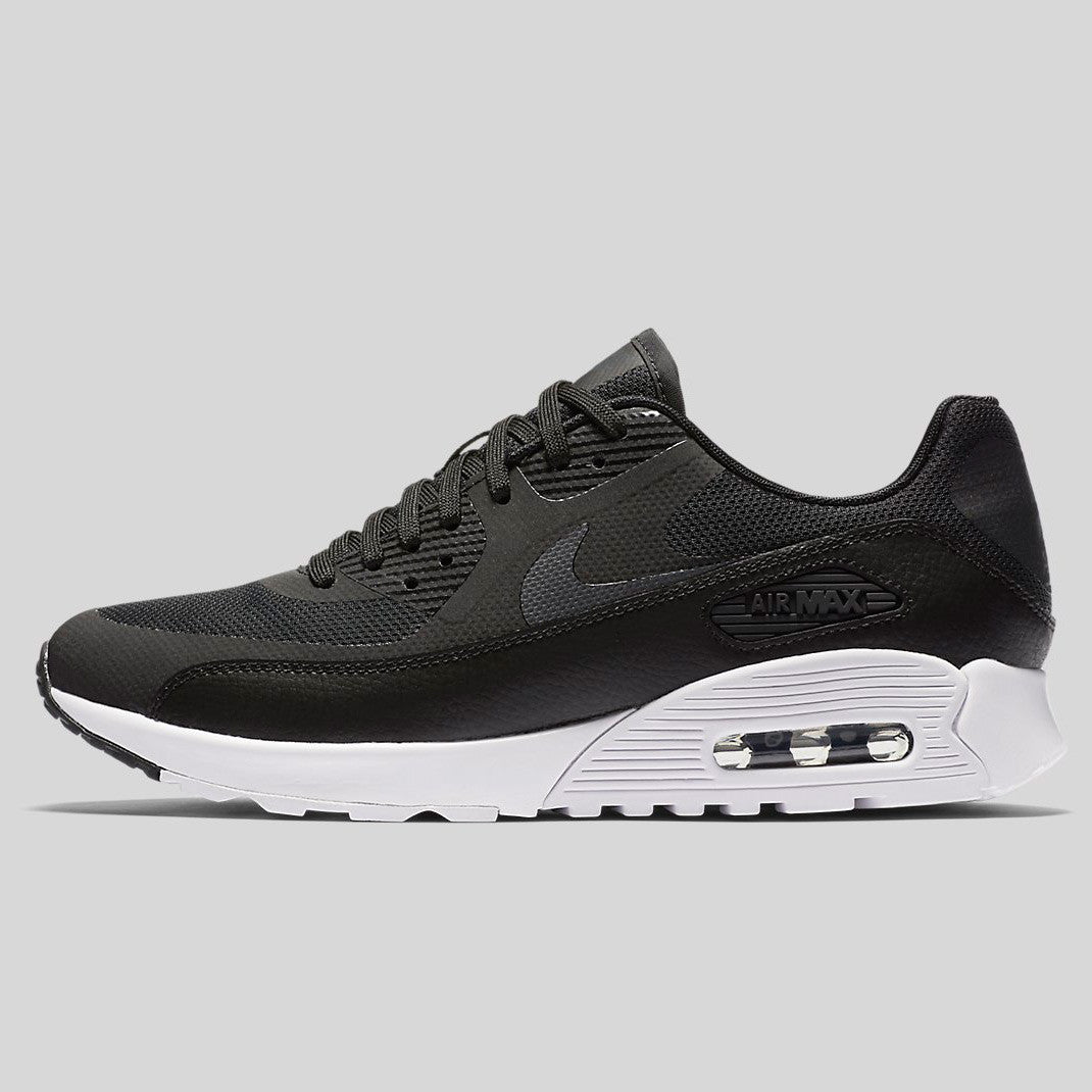 new york daf86 5dcae Nike Wmns Air Max 90 Ultra 2.0 Flyknit Black White Anthracite