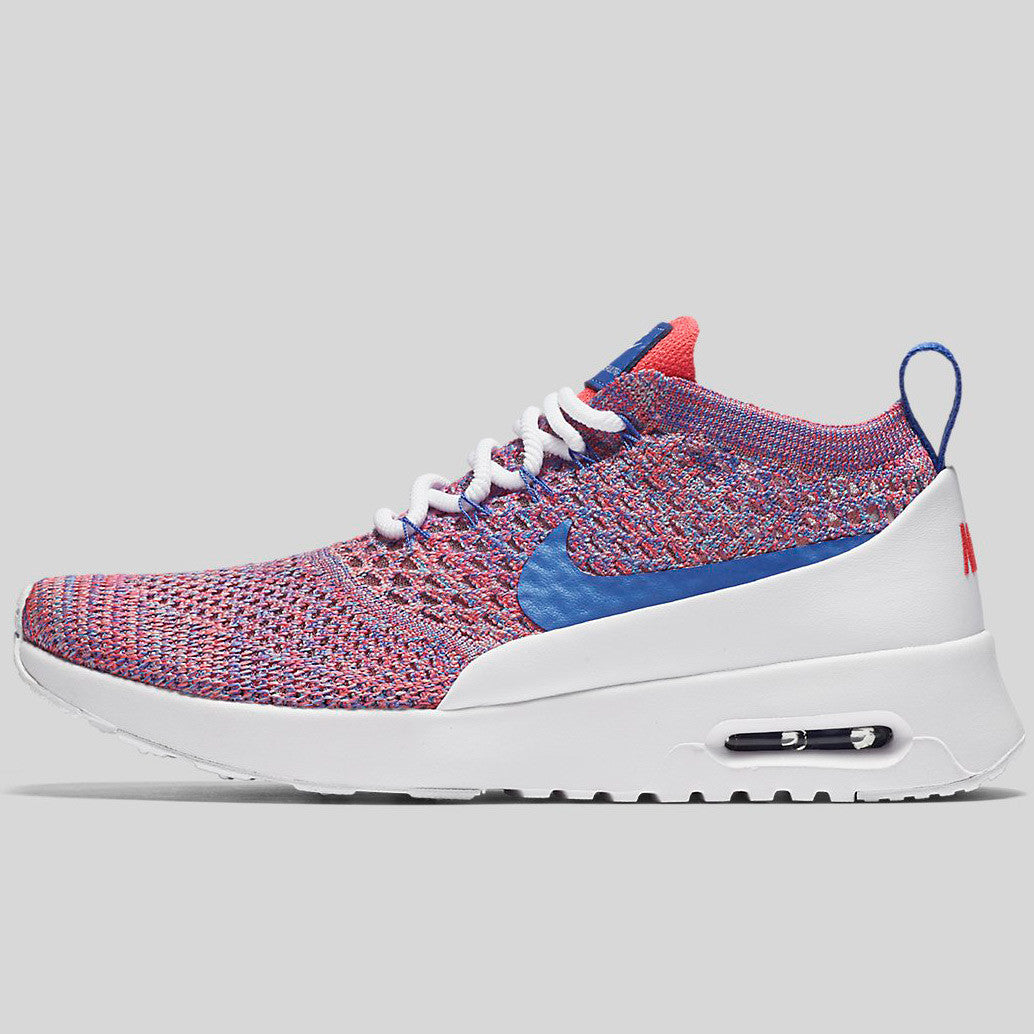lowest price 0913f 8c9a9 Nike Wmns Air Max Thea Ultra FK White Medium Blue Racer Pink (881175-100