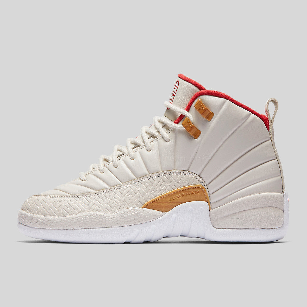 Nike Air Jordan 12 Retro CNY GG (GS) Chinese New Year (881428- ...