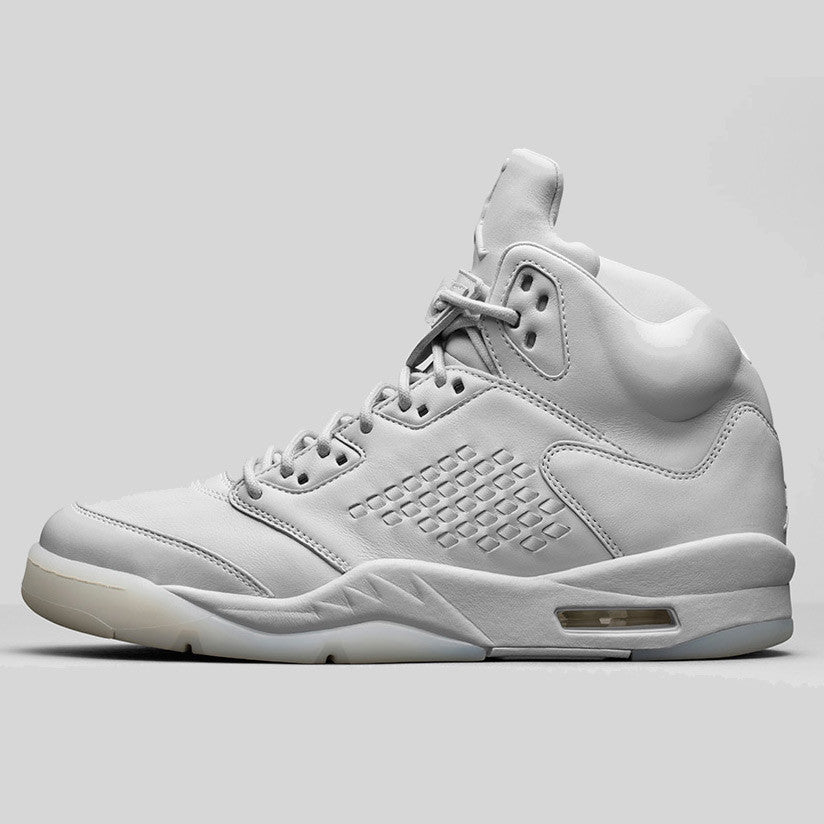 nike air jordan 5 retro prem pure platinum (881432 003)