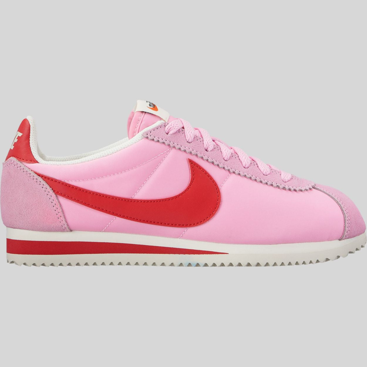 newest 0c299 cf55b greece nike wmns classic cortez nylon prem perfect pink sport red sail  882258 601 defe4 32767