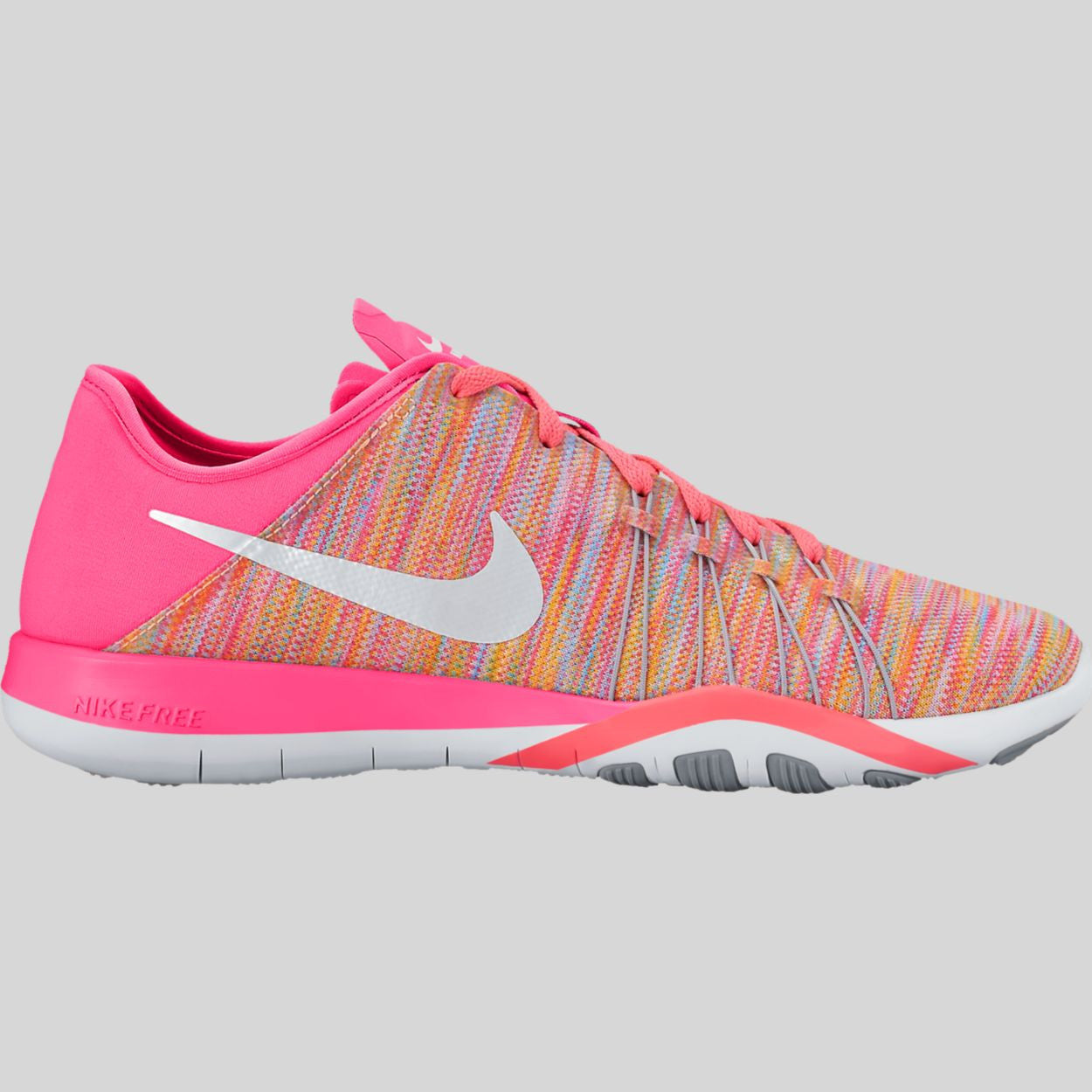 on sale b4a31 c0b8d Nike Wmns Free TR 6 AMP Racer Pink White Cool Grey Sunset Glow (882819-
