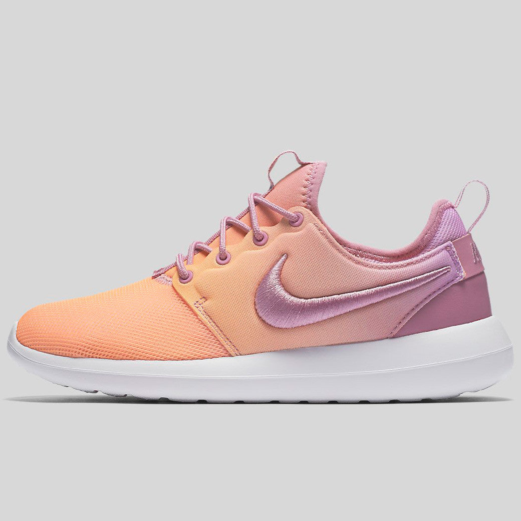 sports shoes 60d6b e5838 Nike Wmns Roshe Two BR Orchid Sunset Glow White