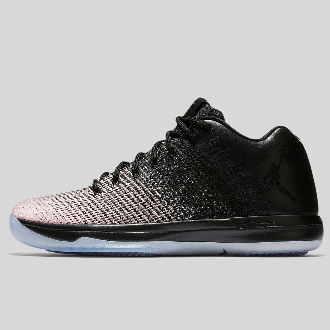 a2fc3569277999 Nike Air Jordan XXXI Low Black Dark Grey Sheen (897564-001)