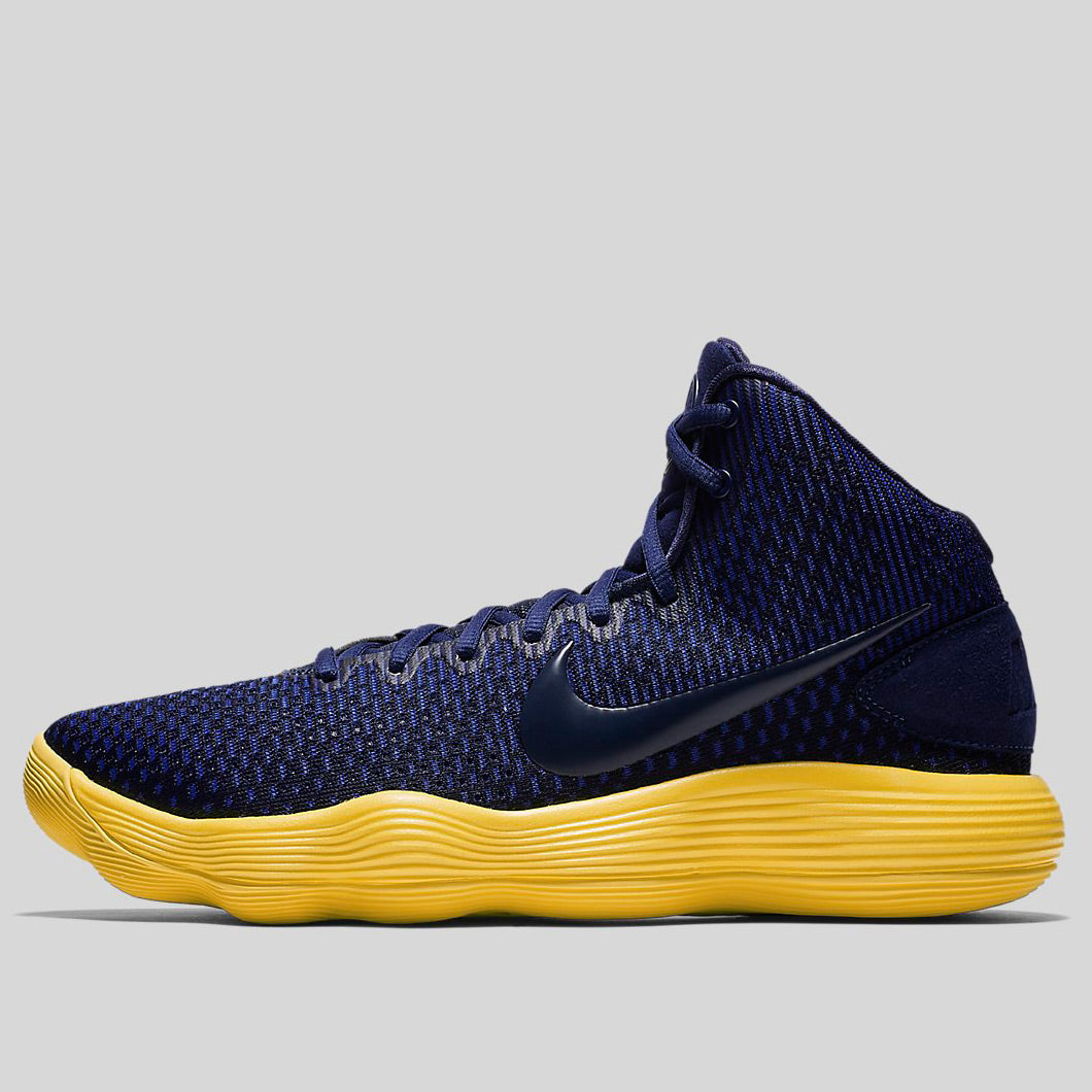 2cb08341c75 Nike HYPERDUNK 2017 EP Midnight Navy Midnight Navy-Tour Yellow (897662-401)
