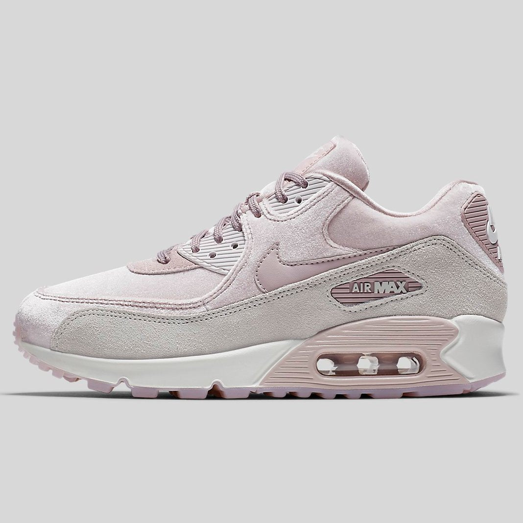 Nike AIR MAX 90 LX Particle Rose Particle Rose Vast Grey (898512-600) 8d685be09