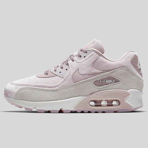 on sale d0eec 4db21 Nike AIR MAX 90 LX Particle Rose Particle Rose Vast Grey (898512-600)