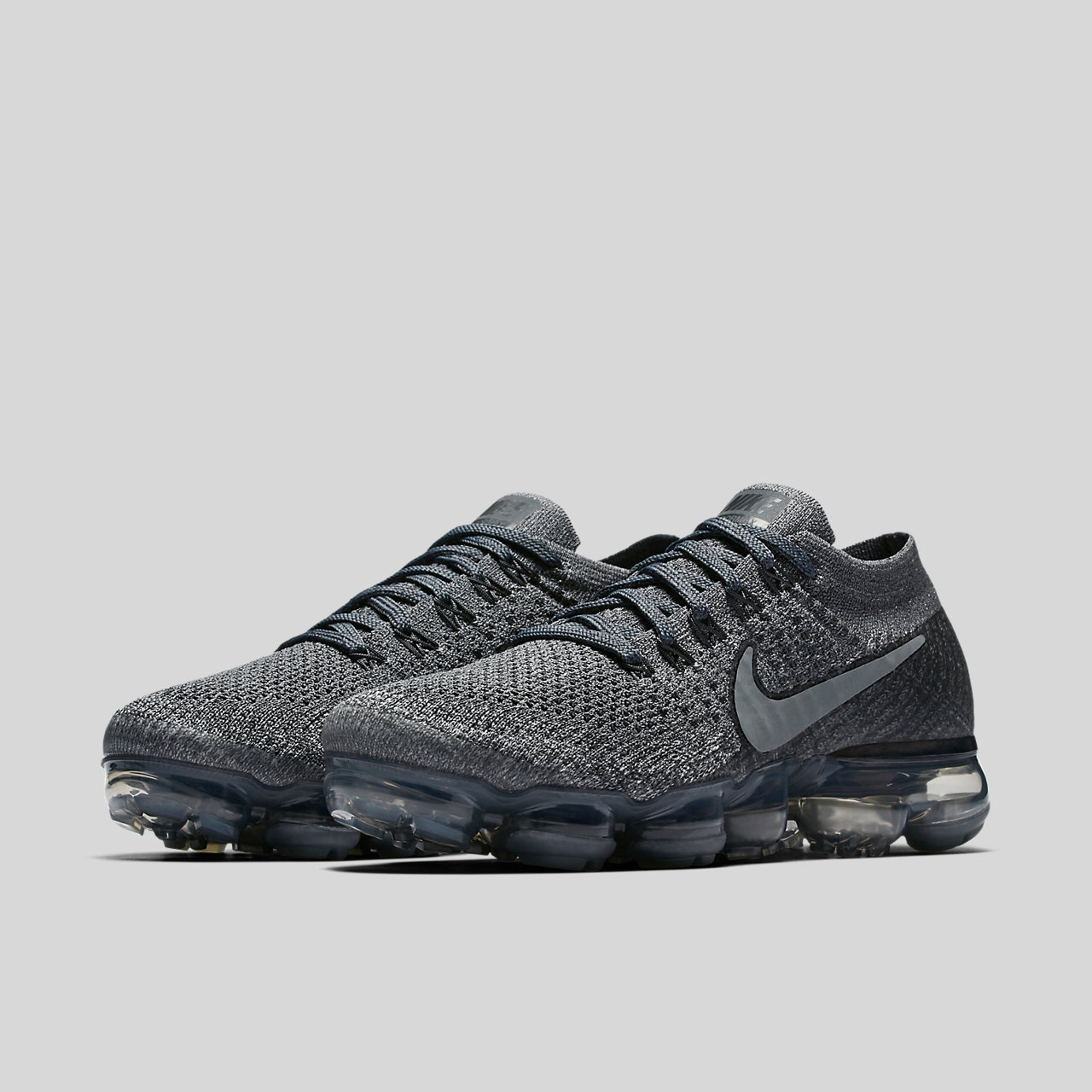 4ee50ea4e5b Nike Lab Wmns Air VaporMax Flyknit Cool Grey Dark Grey (899472-005 ...