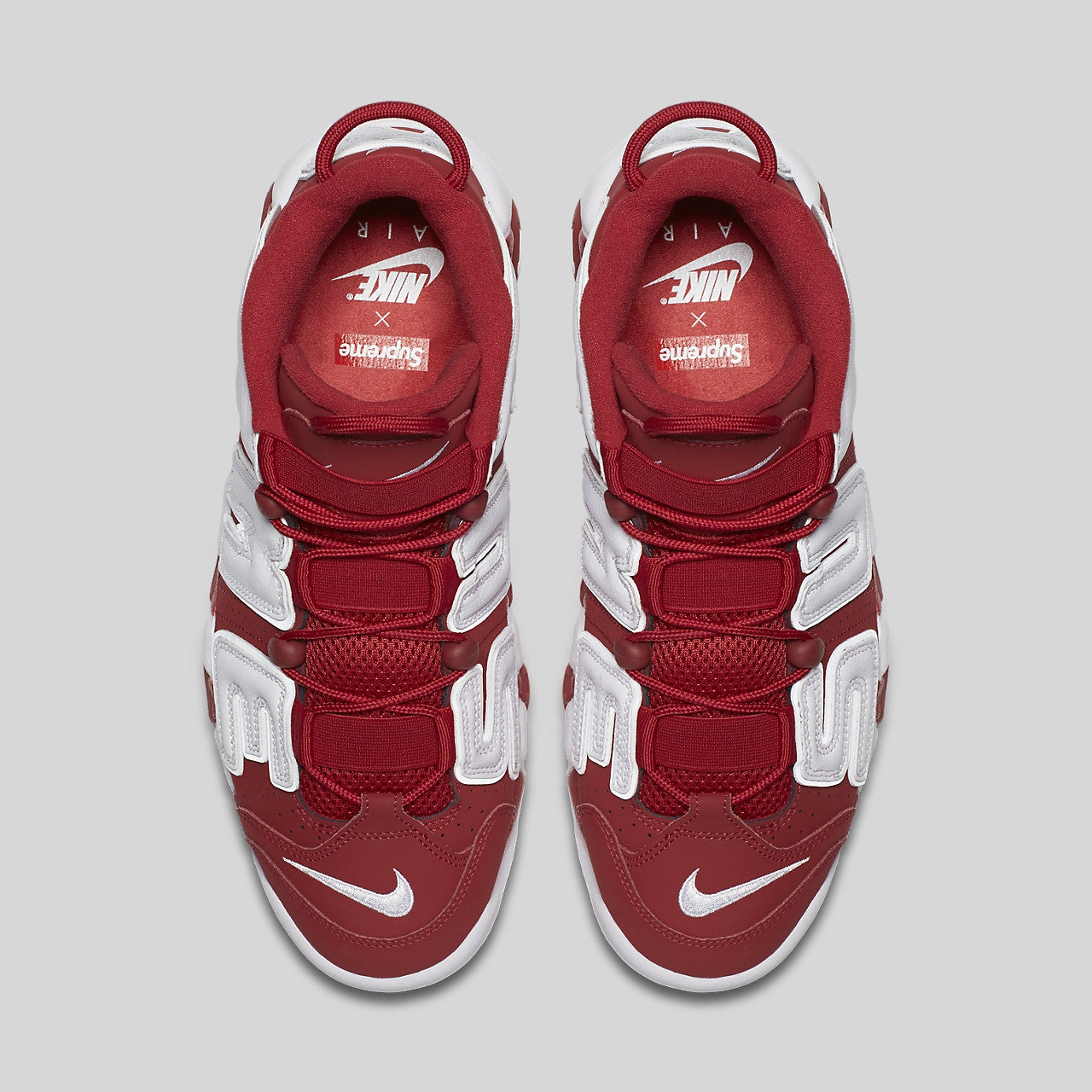 Supreme x Nike Air More Uptempo Suptempo Red. Item Number  902290-600 124ff7bad