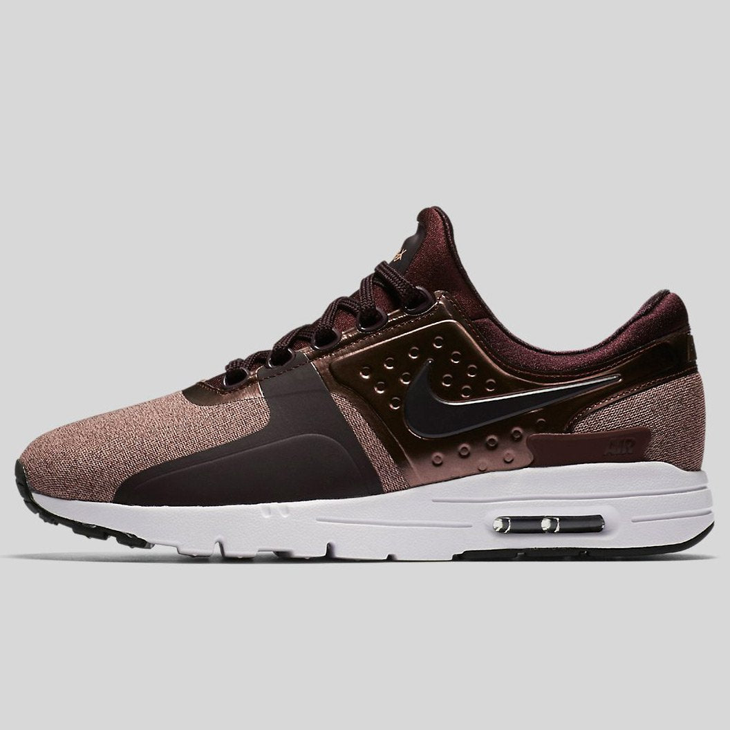 new product 450c6 af011 Nike WMNS AIR MAX ZERO PRM Port Wine Port Wine-Mtlc Mahogany-White (