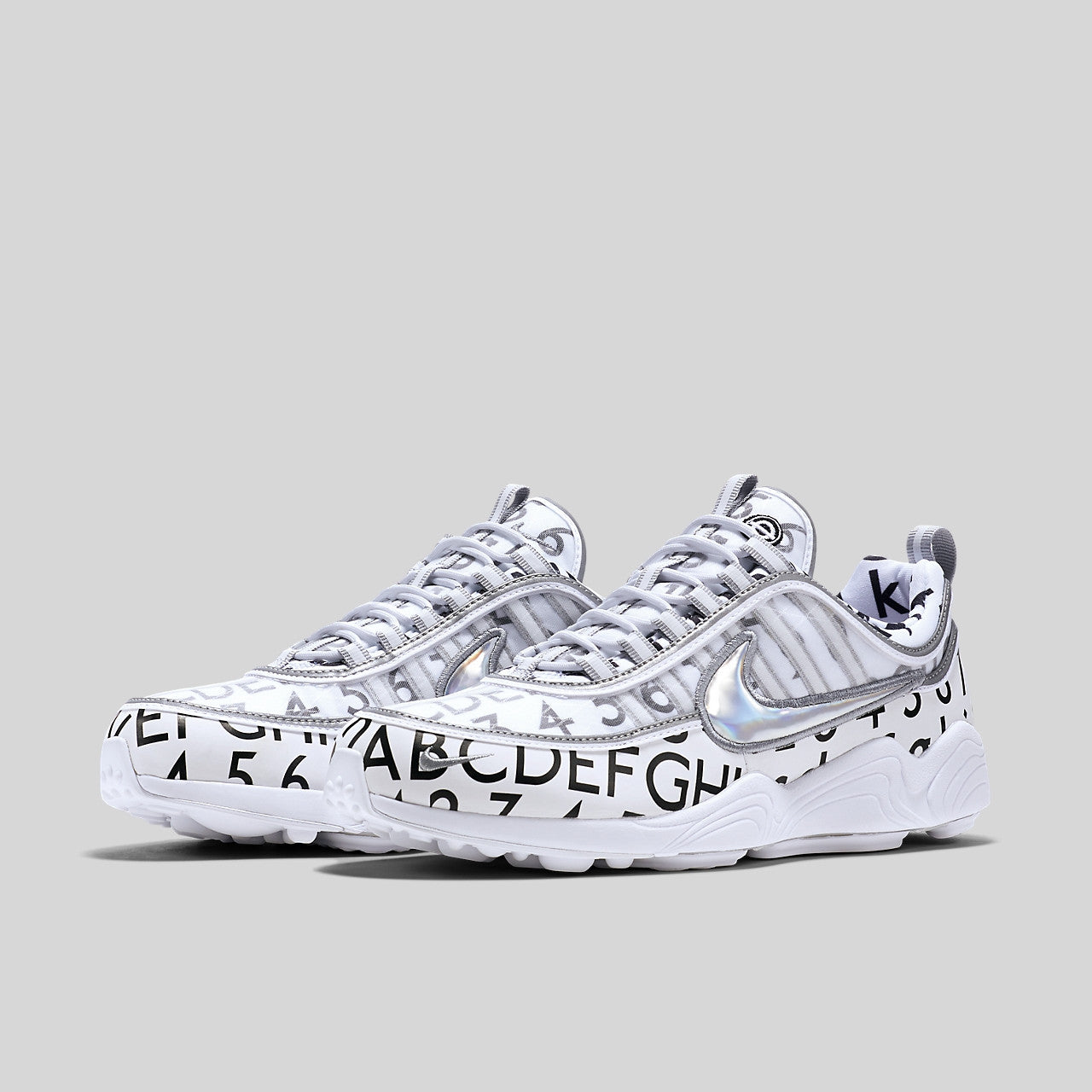 Roundel x Nike Air Zoom Spiridon 16 GPX White Reflect Silver. Item Number   904336-100 a98e86ad1