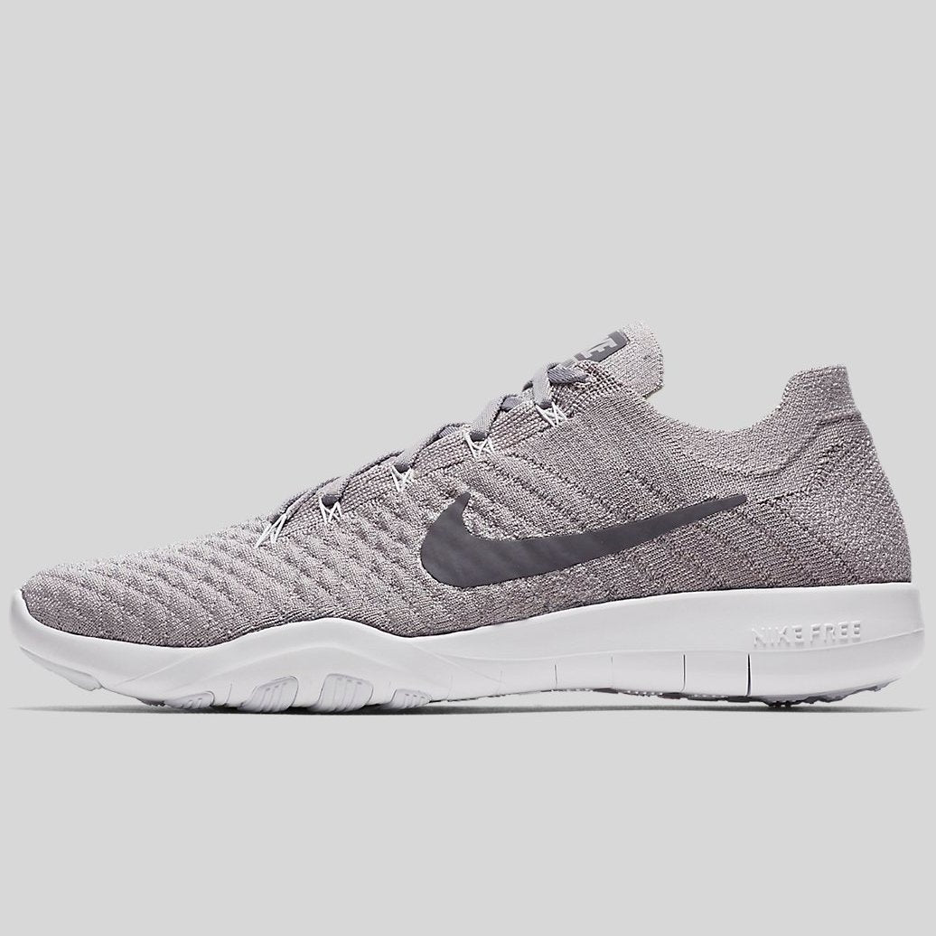 exquisite design best outlet store sale Nike Wmns FREE TR FLYKNIT 2 Atmosphere Grey Gunsmoke White