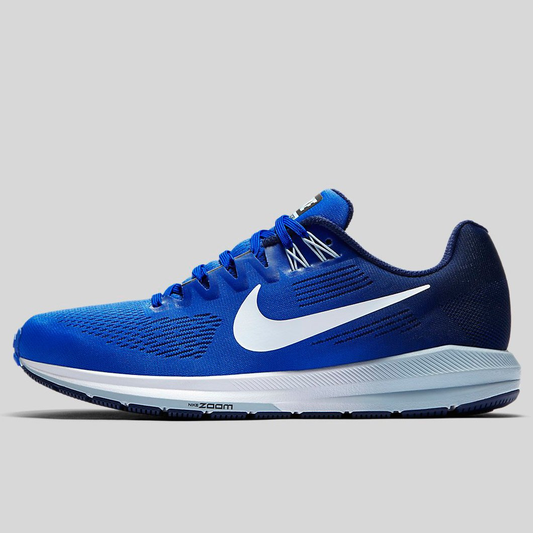 size 40 eccfb 7bd68 Nike Air Zoom Structure 21 Mega Blue White-Binary Blue