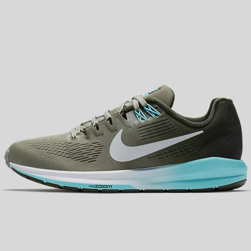 new product d8f88 32f73 Nike Wmns AIR ZOOM STRUCTURE 21 Dark Stucco Pure Platinum-Sequoia