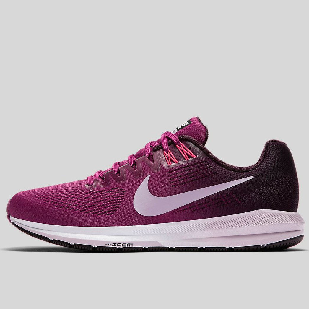 ... Nike Wmns Air Zoom Structure 21 Tea Berry Iced Lilac-Port Wine  (904701-  Wmns Nike Air Zoom Structure 21 Grey Anthracite Women Running  Shoes ... af54139a8