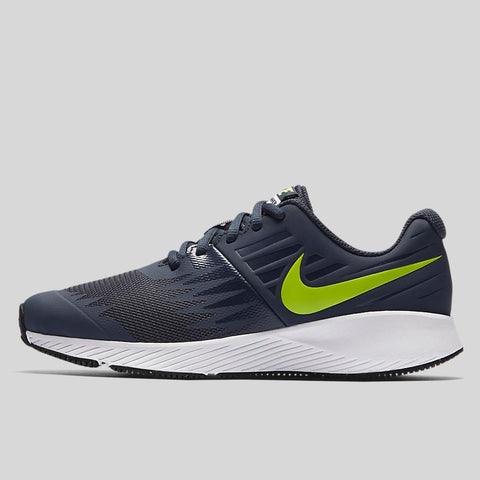 finest selection 2ac5f 126e8 Nike STAR RUNNER (GS) Thunder Blue Volt White Obsidian (907254-404)