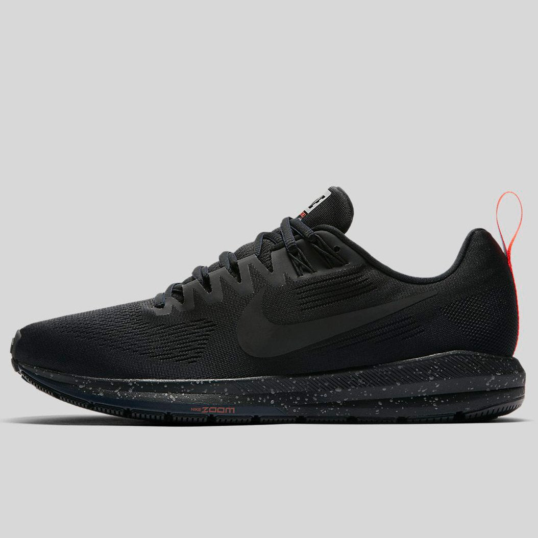 new concept 0aa68 e5f57 Nike AIR ZOOM STRUCTURE 21 SHIELD Black Black-Black-Obsidian