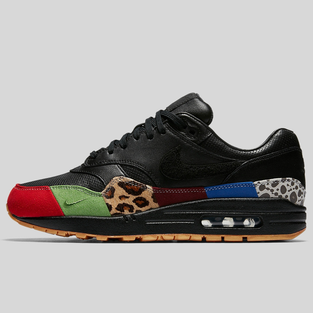 Air Max 1 Master 30th Anniversary University Black Red 910772 001