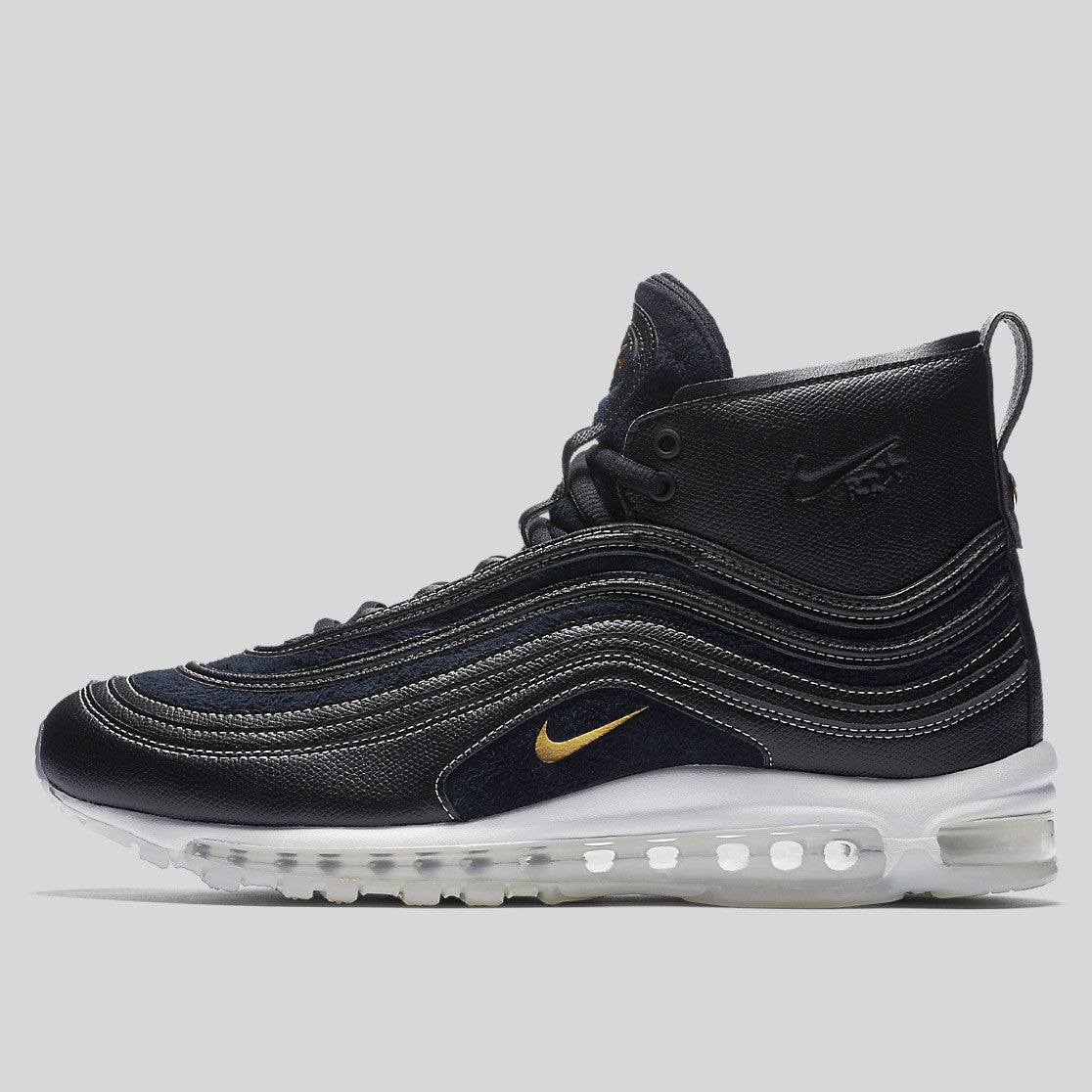 buy popular e3b6d cb0ba Riccardo Tisci x Nike Air Max 97 Mid   RT Black Metallic Gold White  (913314-001)   KIX-FILES