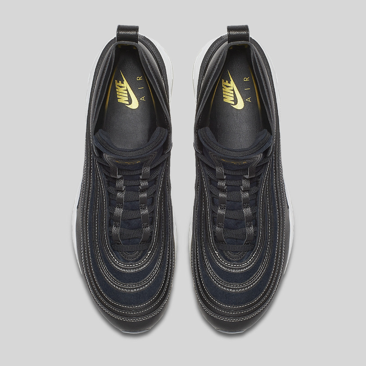 Riccardo Tisci x Nike Air Max 97 Mid   RT Black Metallic Gold White. Item  Number  913314-001 0bc2ea38b8
