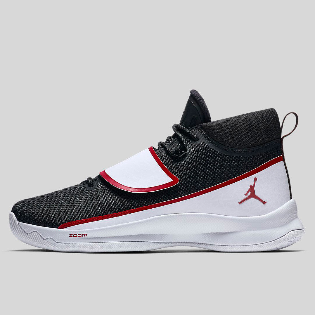 af662305ef7 Nike Jordan Super.fly 5 PO X Black Gym Red White (914478-001)