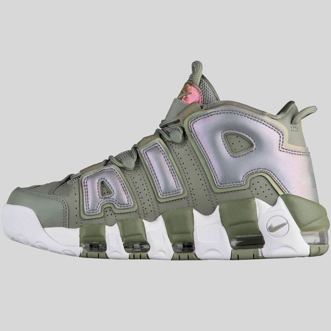 64a2cd0f6228 Nike Wmns Air More Uptempo Barely Green White (917593-300)