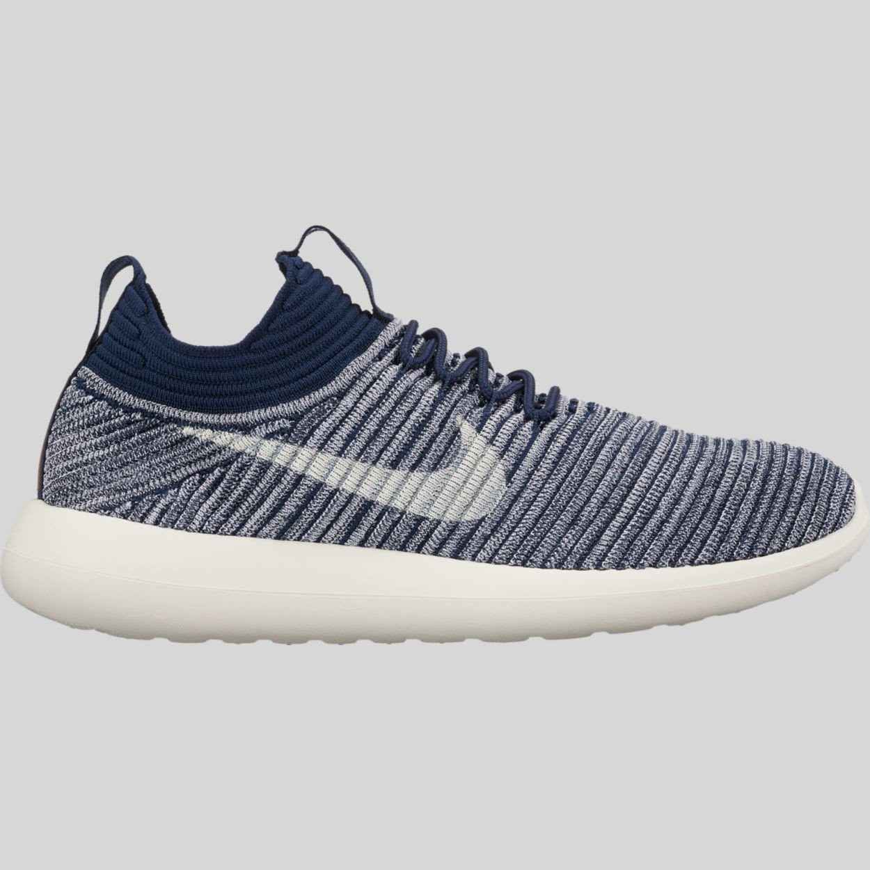 Women's Nike Roshe Two Flyknit V2 917688-400 College Navy/Metallic Sz 6.5 - 8.5