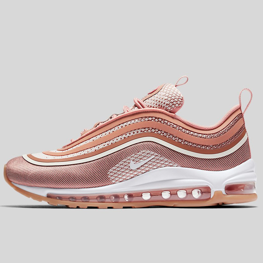brand new 7d947 8109f Nike W Air Max 97 Ul 17 Mtlc Rose Gold Gum Light Brown (917704-