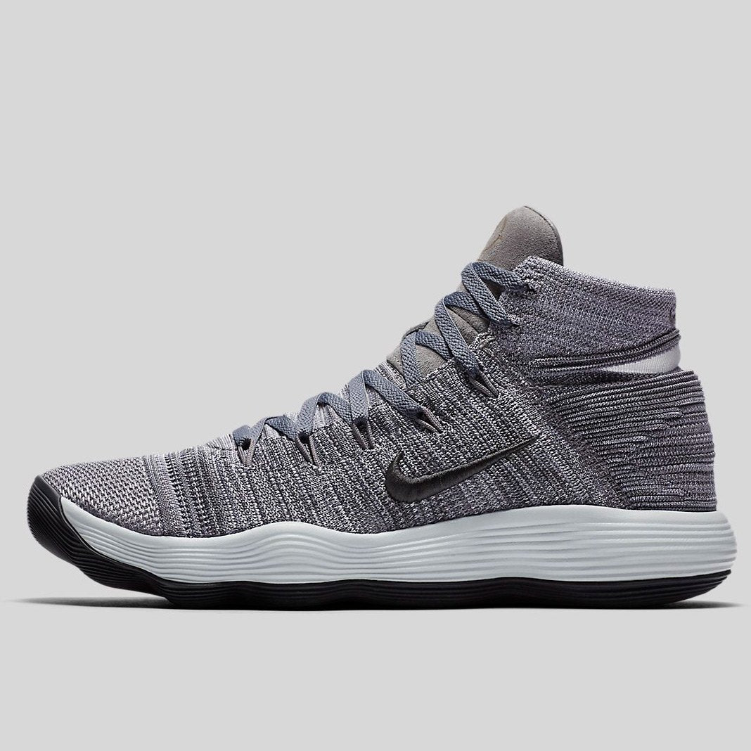 new product 150f6 04c37 Nike Hyperdunk 2017 Flyknit Ep Cool Grey Anthracite-Pure Platinum-White  (917727-