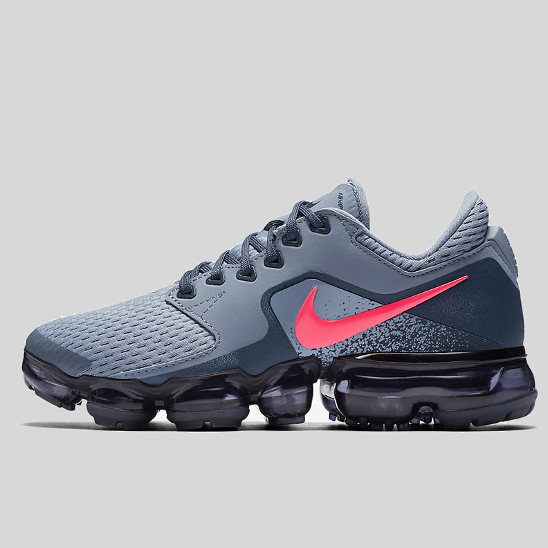 84f0240ab3c NIKE AIR VAPORMAX (GS) DARK SKY BLUE RACER PINK-THUNDER BLUE (917963-401)