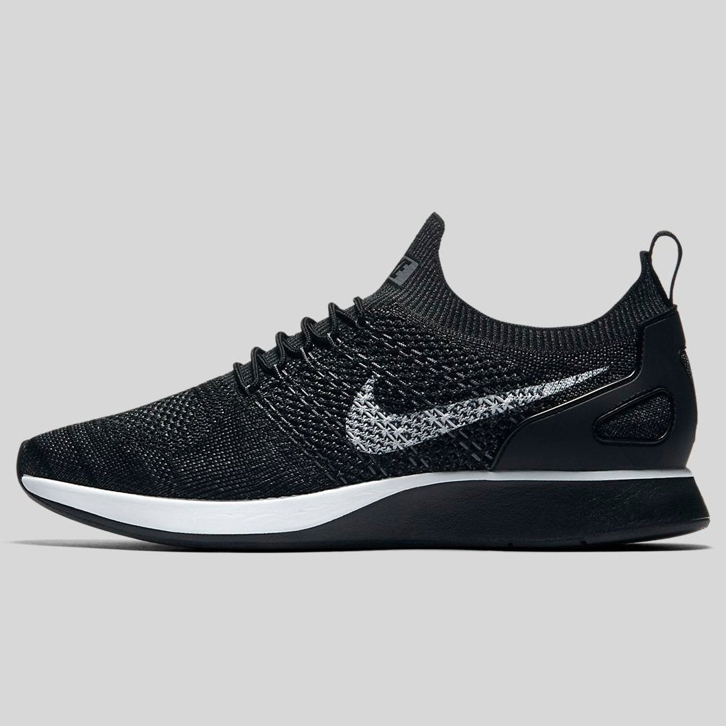 b60ea77ffb8d Nike AIR ZOOM MARIAH FLYKNIT RACER Black Pure Platinum-Anthracite-Dark Grey  (918264