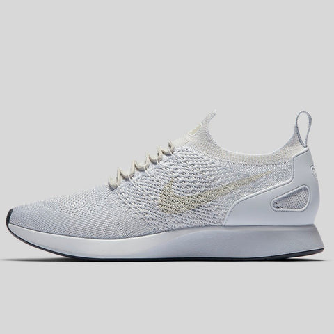 Nike AIR ZOOM MARIAH FLYKNIT RACER pure platinum dark grey-light bone-white