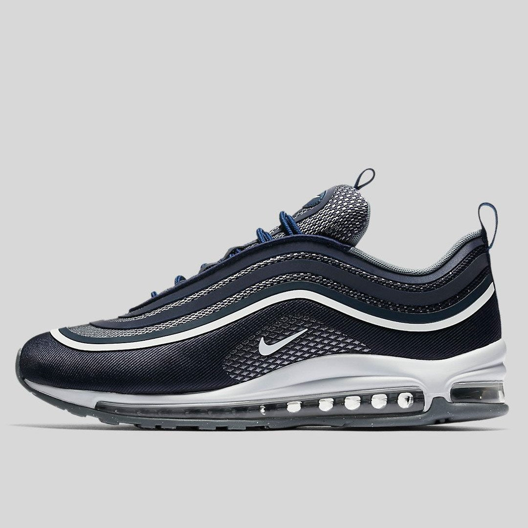 separation shoes 28743 73193 Nike Air Max 97 UL 17 Midnight Navy White Cool Grey (918356-400)